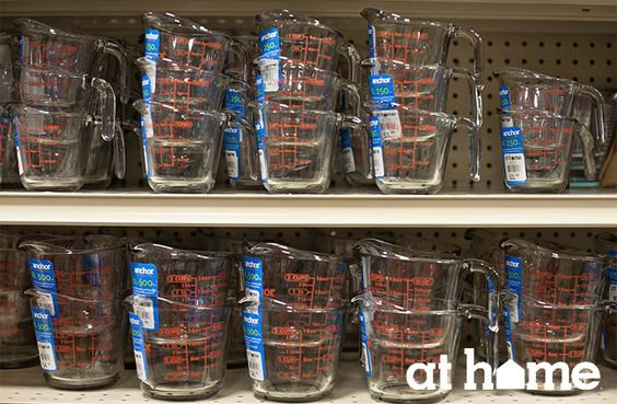 Starting at just $2.99, we're featuring some great baking accessories as we all prepare for fall entertaining and the holiday season. From measuring cups to mixing bowls to decorating kits, we have all your baking needs At Home.