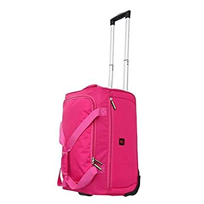 Color : Red, Size : 543727 Travel Bags Waterproof Pull Rod Portable Boarding Widening Trolley Case Luggage Suitcases Carry On Hand Luggage Durable Hold Tingting
