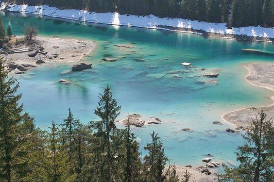 Seen in der Schweiz: Caumasee