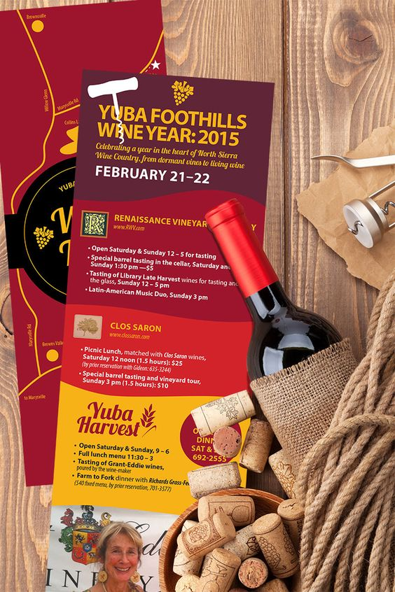 Flyers designed by Fandango Media Group to advertise a wine tasting event. www.fandangomediagroup.com #print #marketing #graphicdesign