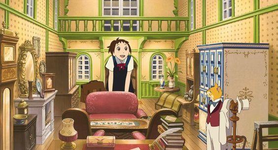 Si tu tends l'oreille, peut-être rencontreras-tu le Baron | Studinano, Portfolio de Shou' #chat #cat #kitty #kitten #ghibli #miyazaki