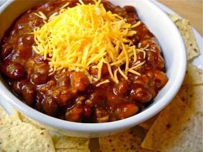 sounds easy enough....yummer chili