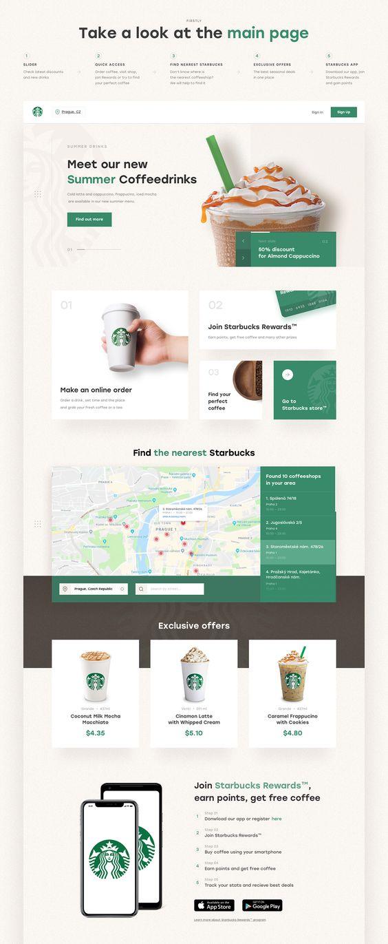 Starbucks Redesign |