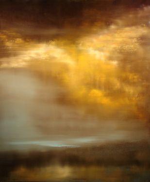 "Maurice Sapiro; Painting, ""Mist"""