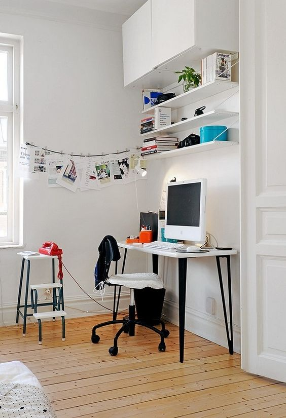 Surprisingly Fresh Home Office Decorating Ideas | Femenista