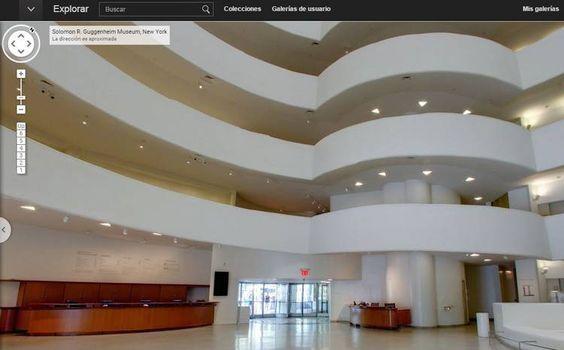 Recorré el interior del Guggenheim Nueva York desde tu computadora