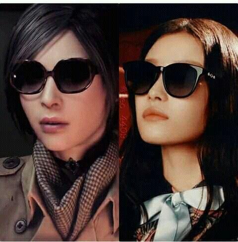 Ada Wong Face Model Re2r Resident Evil Celebrities Best Waifu