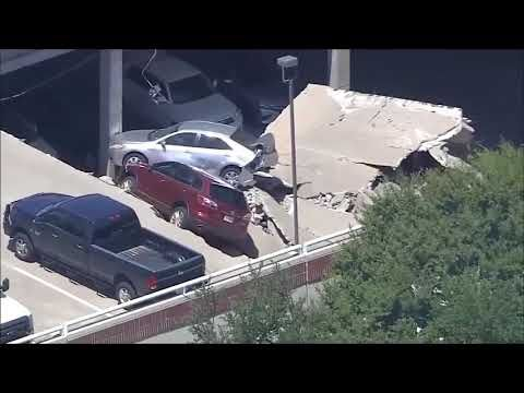باركينق يبتلع سياراته Car