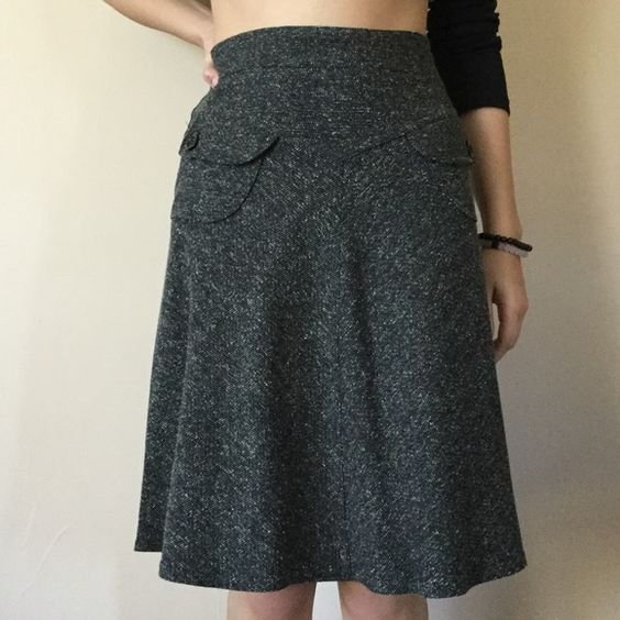 Necessary Objects tweed (black and white) skirt Necessary Objects size medium skirt. Necessary Objects Skirts