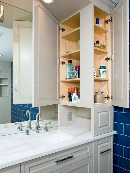 Bathroom Storage Cabinets That Will Help You Keep Everything Organized Bathroom Vanity Storage Bathroom Storage Tower Bathroom Layout