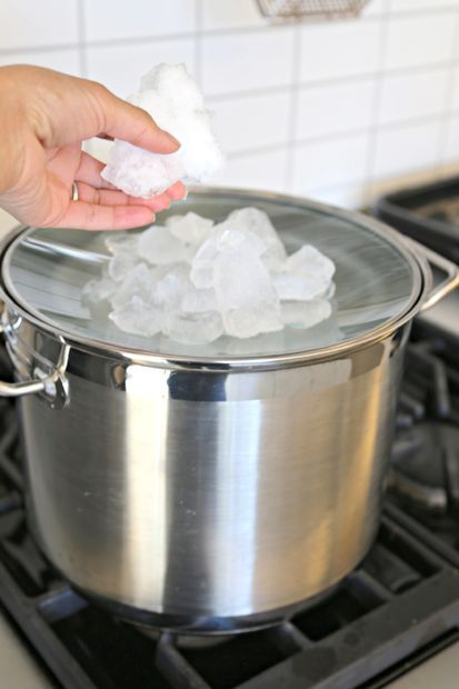 How to make distilled water easy at home.