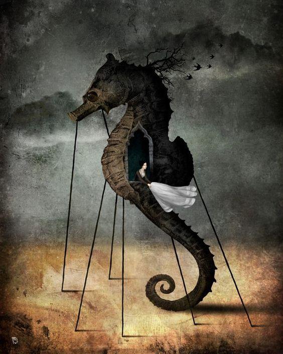 Cristiano Schloe ~ Pop Surrealismo Visiones