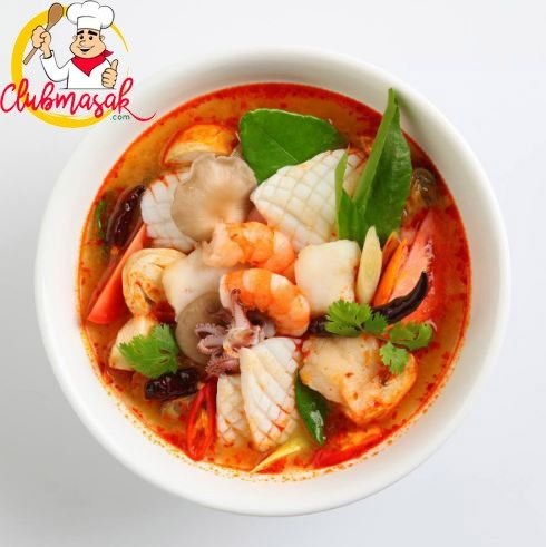 Tom Yam Club Masak Masakan Indonesia Masakan Makanan