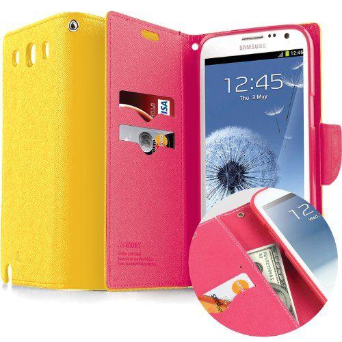 Multi-Purpose Premium PU Wallet Case for Samsung Galaxy S3 :: Ziftr.com