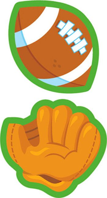 All-star Sports Hot Dog Sticker (Set of 3)