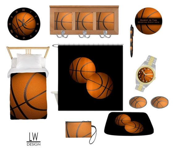 """B Ball"" by kashmier ❤ liked on Polyvore featuring interior, interiors, interior design, home, home decor, interior decorating, homedecor and leatherwooddesign"