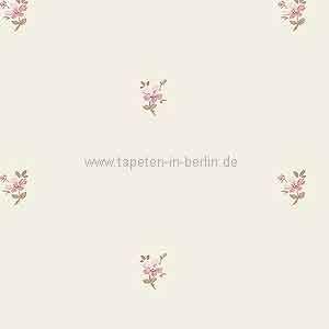 Blumentapete Landhausstil Streublumen rosa online kaufen