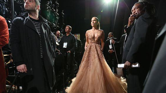 J.Lo as Cinderella. Oscars, 2015.