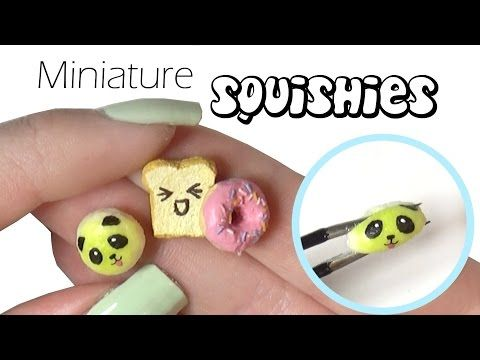 Silly Squishy Diy : EASY Miniature Squishy Tutorial - Mini Squishies - YouTube Summer time beauty Pinterest ...