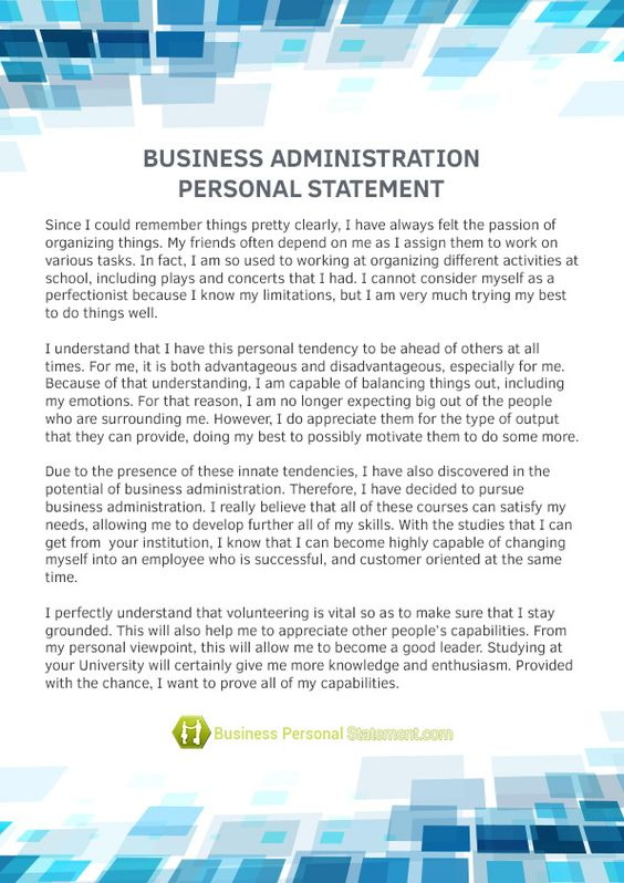 If you want to write an outstanding marketing personal statement - personal statements