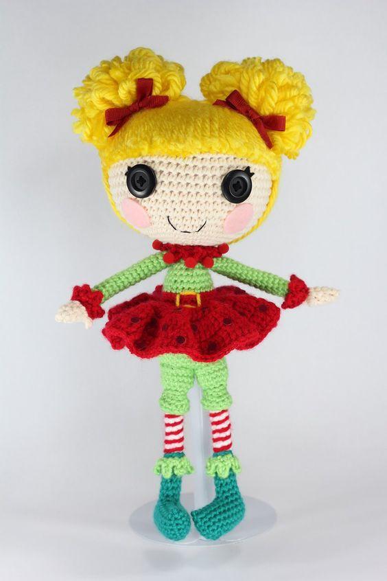 Amigurumi Doll Lalaloopsy : LALALOOPSY Holly Sleighbells Amigurumi Doll by Npantz22 ...