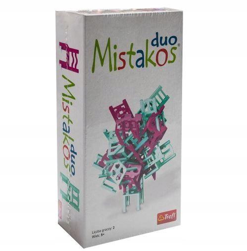 Gra Zrecznosciowa Mistakos Duo Walka O Stolki R 7915604041 Oficjalne Archiwum Allegro Duo Book Cover