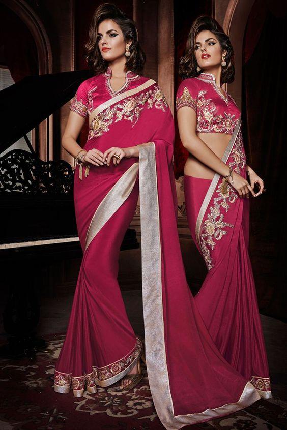 Phenomenal Wedding Bridal Embroidered Saree