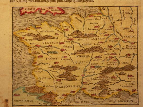 medieval france images mapof ancient france 1600
