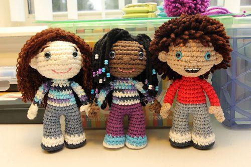 Ravelry: NickyBlade Doll Pattern pattern by Nicky Blade