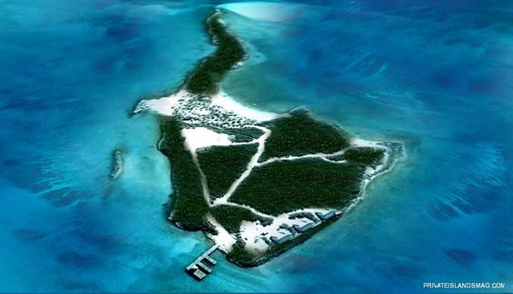 His own private island!!!!