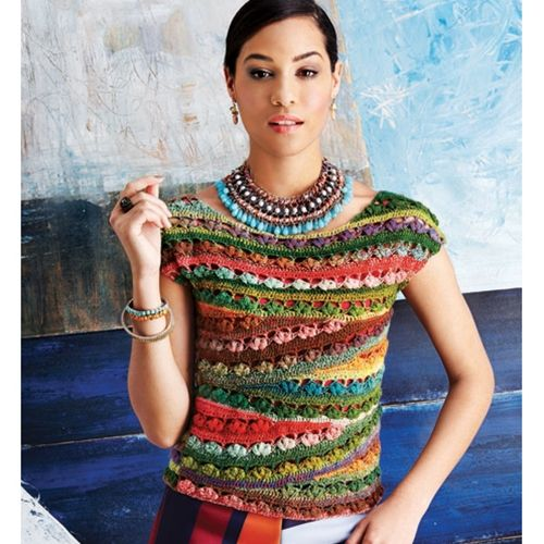 Knitting Vogue 2014 : Ballet neck tee vogue knitting crochet design