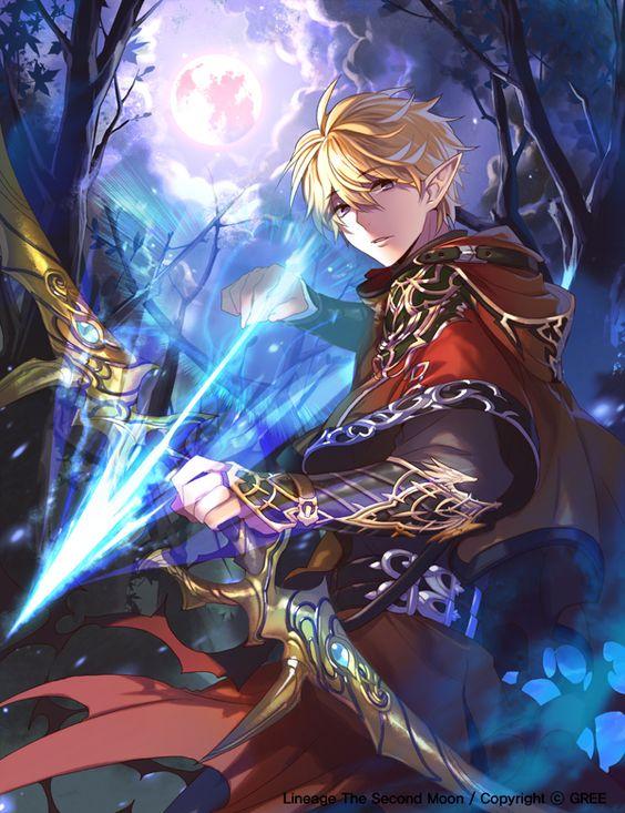 Woah! I love his cloak and his gauntlets. Plus that epic bow! empew.deviantart.com on @deviantART