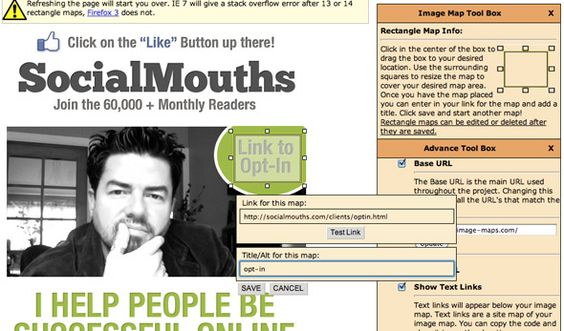 How To Build A Facebook Landing Page With iFrames @socialmouths.com