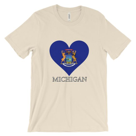 Michigan Heart State Flag