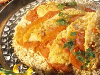 Curry-Rotbarsch
