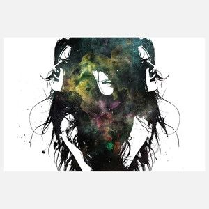 Alex Cherry - Blind Mary Wall Mural, $99, now featured on Fab.