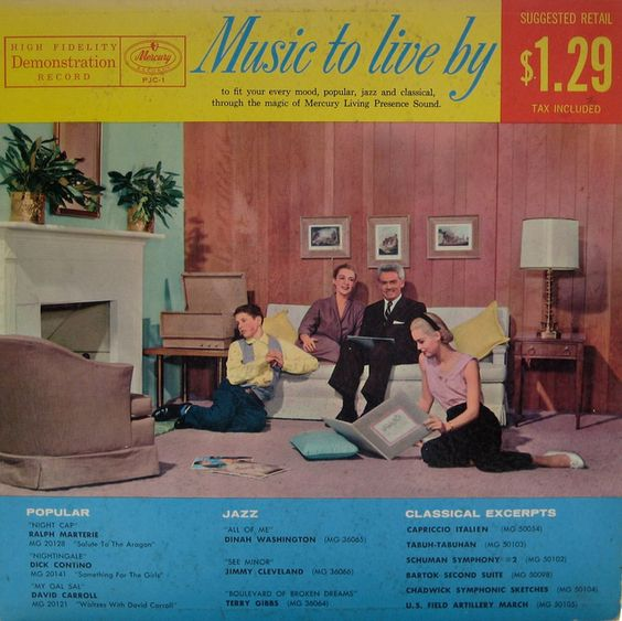 Music To Live By #vintage #vinyl #records