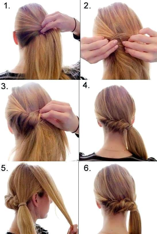 How To Make A Hairstyle With Your Own Hands At Home Hairstyles Side Ponytail Hairstyles Side Ponytail Hairstyles Tutorial Ponytail Hairstyles Tutorial