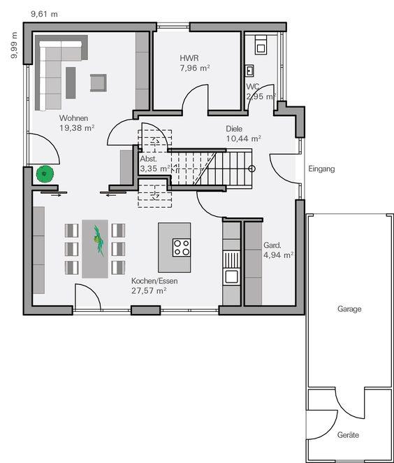 Moderne architektur häuser grundriss  01_Haus_Freiberger.jpg (5616×3744) | Schöne Häuser | Pinterest ...