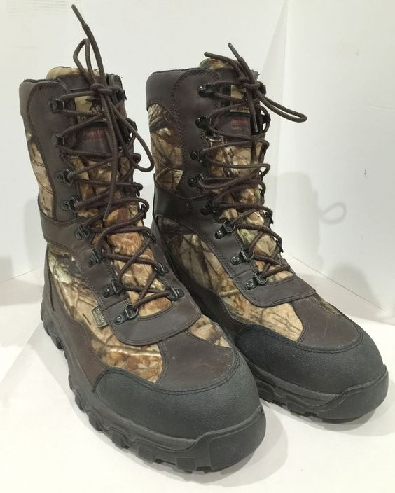 Irish Setter by Red Wing Size 12 Hunting Boots 2822 Thinsulate 600 ...