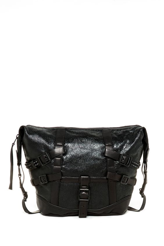 Roxy Distressed Leather Hobo by Ash on @nordstrom_rack