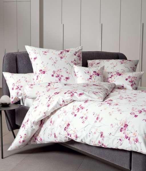 Bettwasche Garnitur Messina Fuchsienrosa Blumenmuster 155x200 Kaufen Baumwollbettwasche Bettwasche Blumenbettwasche