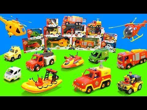 Feuerwehrmann Sam Spielzeug Youtube