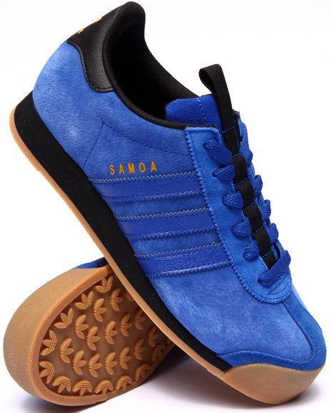 adidas samoa men blue