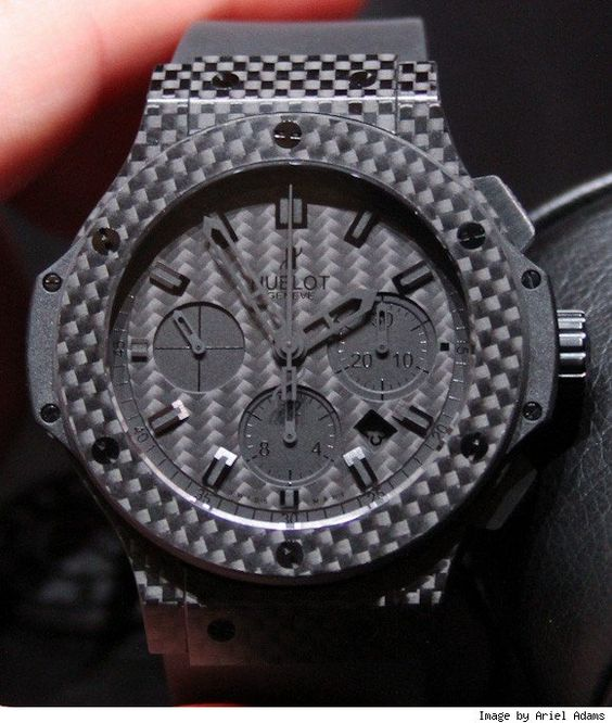Modern materials such as carbon fibre are being used to signal high performance.
