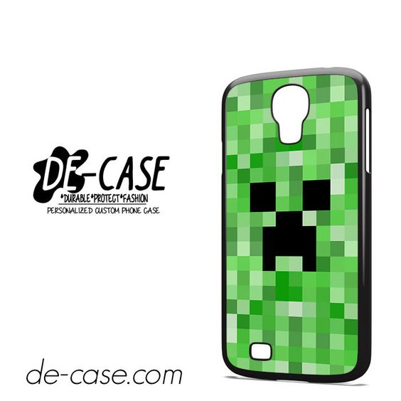 Minecraft Creeper DEAL-7266 Samsung Phonecase Cover For Samsung Galaxy S4 / S4 Mini