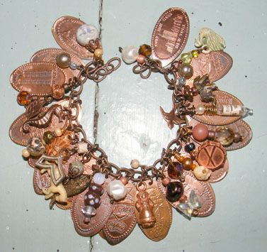 Yesterday's Trash Pressed Penny Bracelet