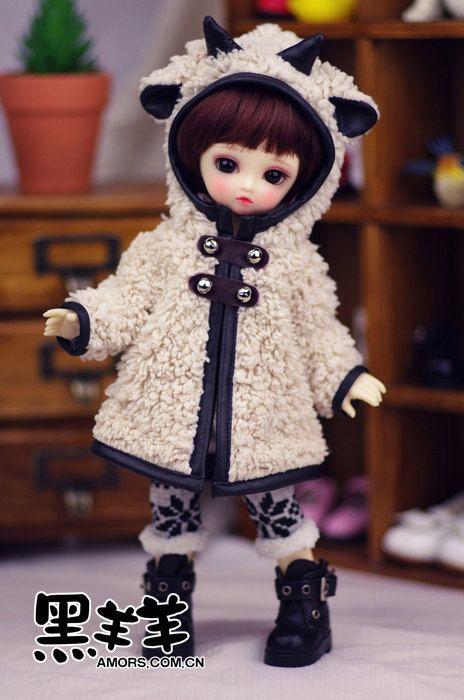 AmorsDoll [Black Sheep] para 1 / 6BJD & Yosd roupa de tamanho