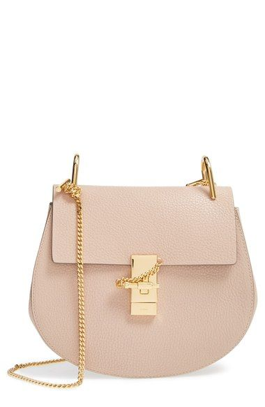 Drew Leather Shoulder Bag   Chloe, Leather crossbody bag and Places 4b28f606df