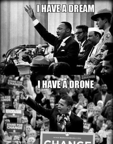 I have a dream - I have a drone